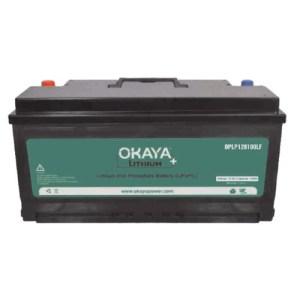 Okaya Lithium Battery 100Ah/1280Wh LiFiPo4