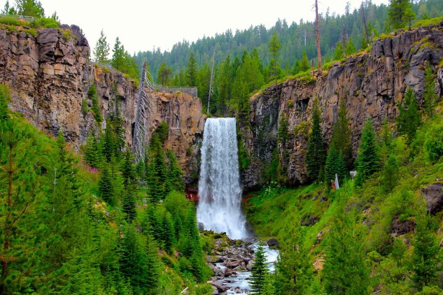 Tumalo Falls Photo by Kathryn Warmstron