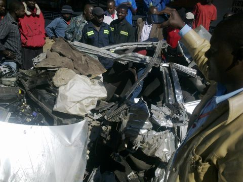 PICTURES: Lumumba Road Traffic Accident Claims Lives Of Three