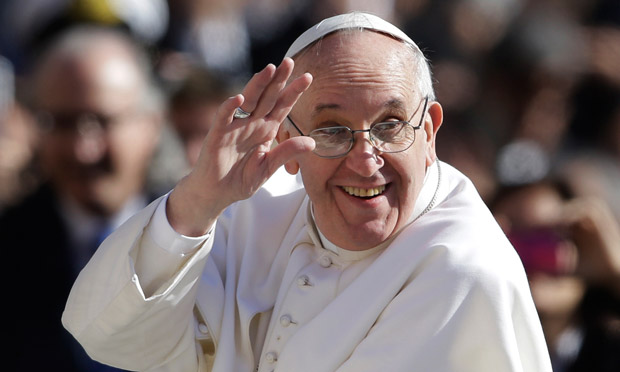 Pope Angered by America's  'Mother Of All Bombs' Name