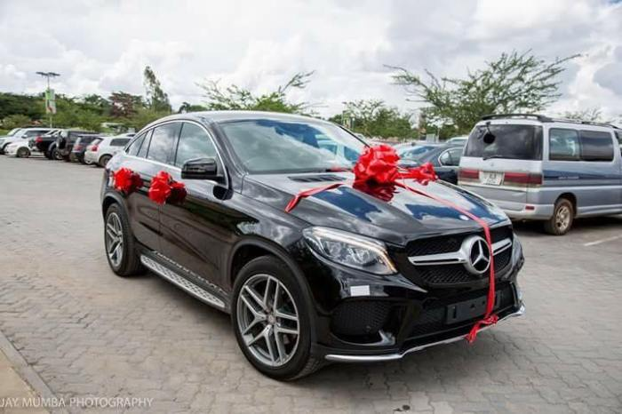 Stopilla Sunzu Surprises Wife With A Mercedes Benz