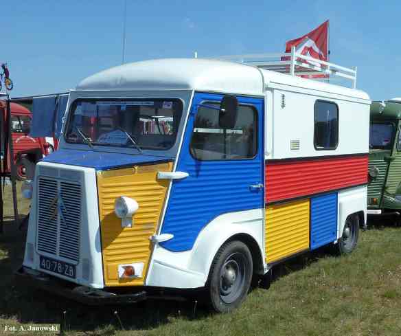 Citroen 20 Friends C2V Poland verte le Grand Ami multi color ciężarówka Nasze Strony nez de cochon pig nose