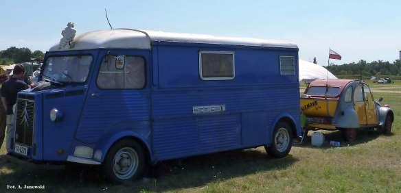 Citroen 28 Friends C2V Poland le Grand Ami lorry atramentowy ink blue encre Nasze Strony