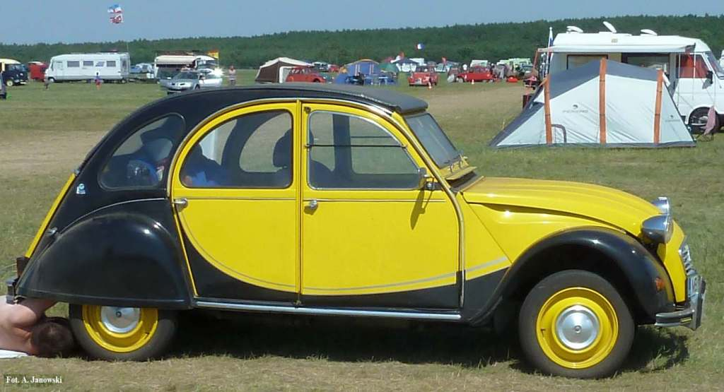 Citroen 33 Friends C2V Poland Charleston helios jeune noir żółto-czarny yellow-black Nasze Strony