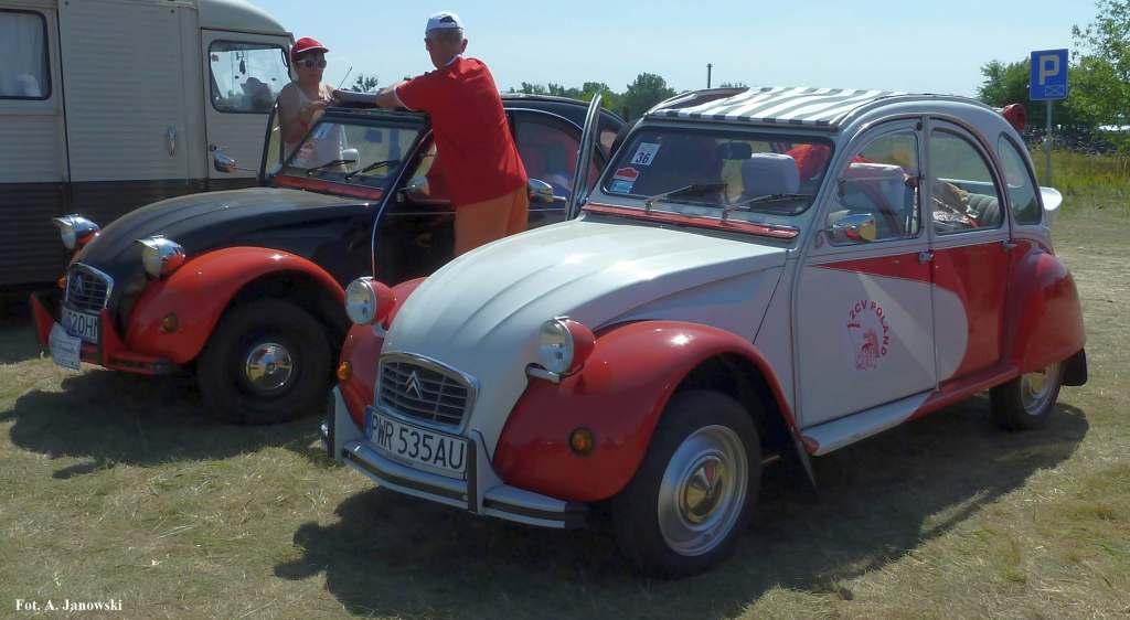 Citroen 36 Friends C2V Poland black red white biało czerwony biało-czerwone rouge blanche Nasze Strony