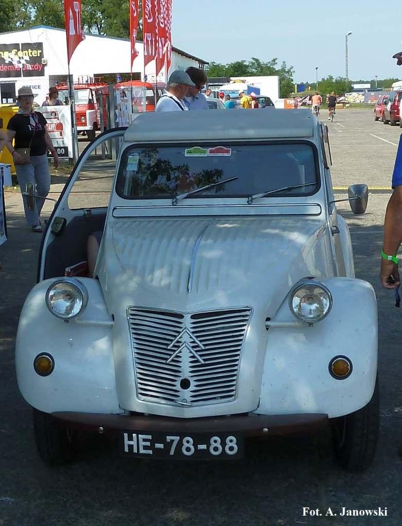 Citroen 46 Friends C2V Poland old white light colour ecru ecri ekri Nasze Strony