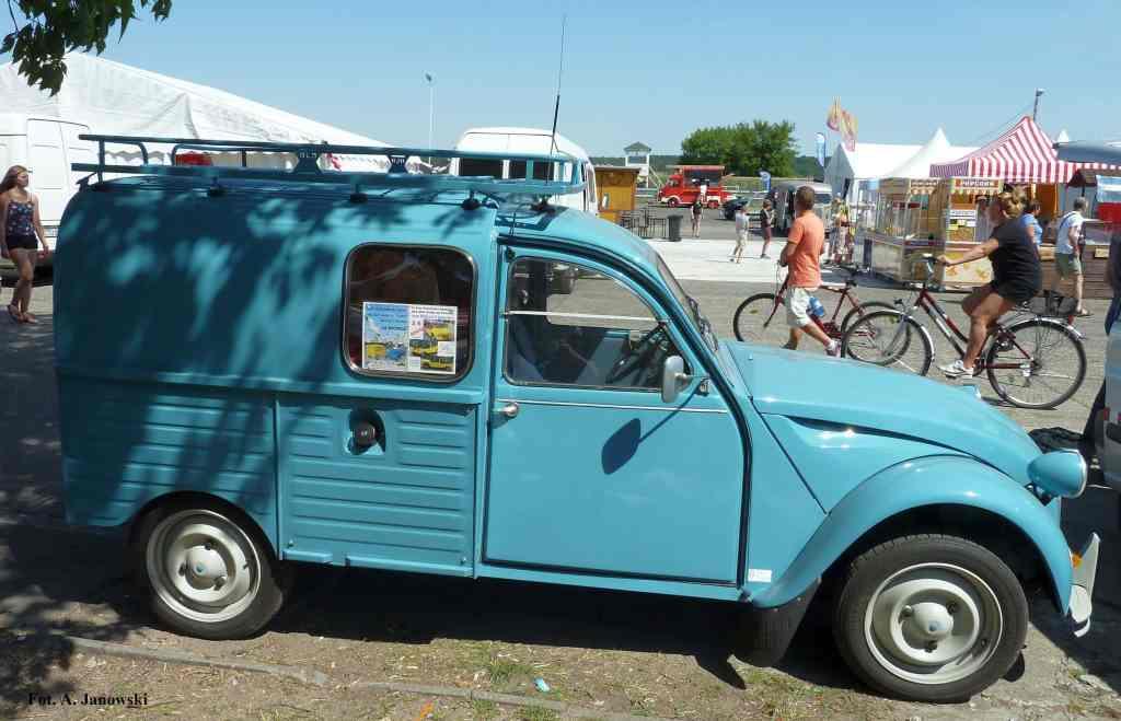 Citroen 50 Friends C2V Poland blue pastis pasta jasny odcień Nasze Strony