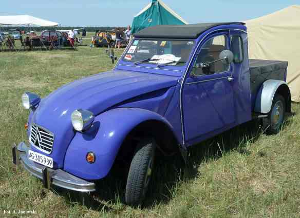 Citroen 8 Friends C2V Poland Purple Furgon Furgonetka Fioletowa Fioletowy Purpurowy