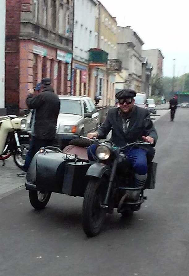 stary starodawny Motocykl Toruń