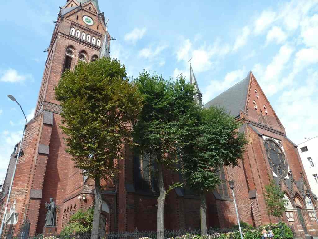 Parafia rzymskokatolicka p.w.św. Jana Chrzciciela Szczecin Parish saint John Baptist