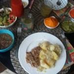 Soczewica marchew krem brokuł kotlety Vegun meal wegański posiłek obiad danie główne pierwsze main dish plate vegetalienne wegan wegetariański vegetarian