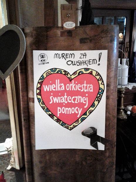 Solanki Pawła Adamowicza Paweł Prezydenta Gdańska Inowrocławski Serduszko za Wosiakiem WOŚP Orkiestra