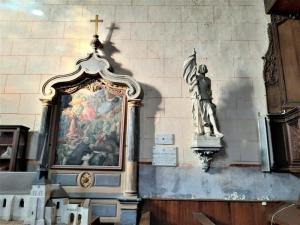 Ferte Bernard Rue de lÉglise Saint Germain Jeanna dArc Joanna parafia