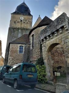 Ferte Bernard Rue de lÉglise Saint Germain de la Coudre France