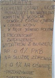 Inowroclaw pis tvpis media Poland woman Wojsko armia mon służby manifestacja protest Inowrocław kobiet emerytury Polska aborcja tk ustawa sejm kujawy