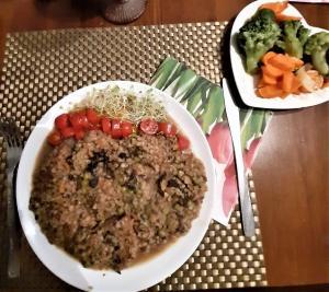 Weganskie kasza jeczmienna potrawy przepisy sprawdzone master cook chef menu wegetarianskie vege vegan jarskie jedzenie pyszne yummy