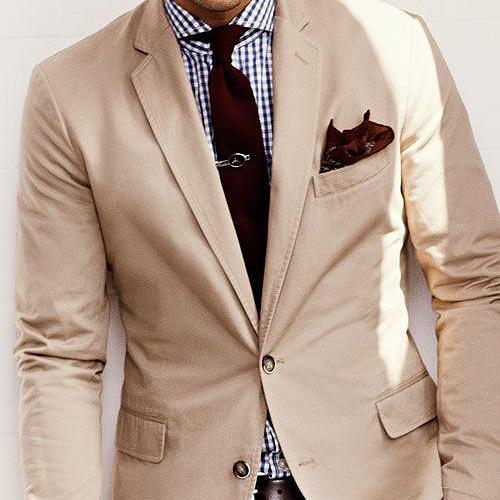 茶色(ブラウン)ネクタイ