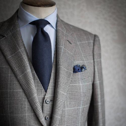 紺(青)のネクタイ