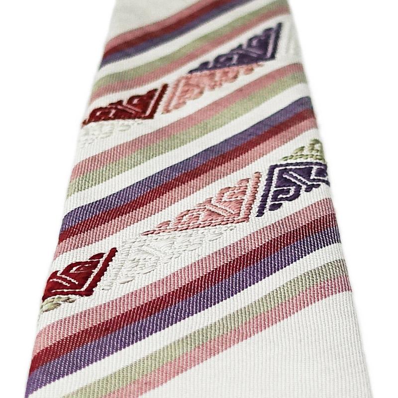 ツンドラの手織りシルクネクタイ3