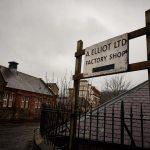 ボーダーズのタータン工場|スコットランド旅行記02