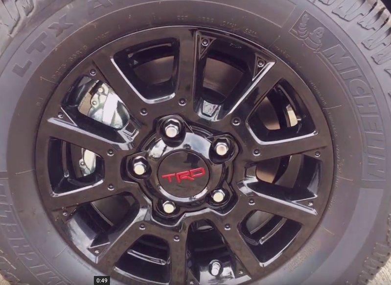 Trd Pro Wheels Toyota Tundra Forum