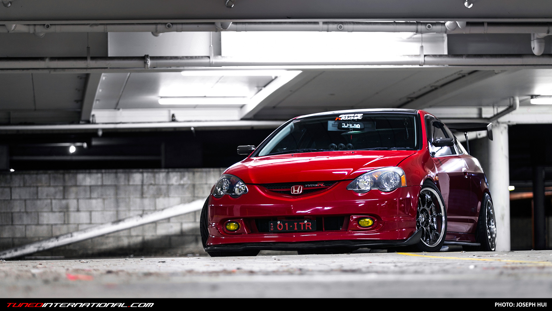 The Red Devil Paul S Honda Integra Dc5 Type R Tuned International