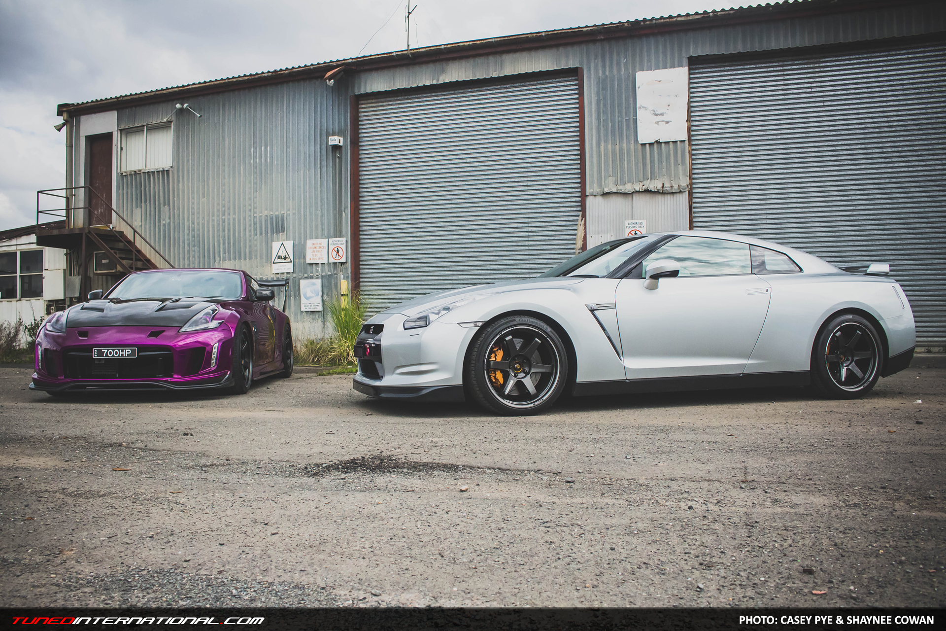 Double Trouble Alvins 350Z  Steves GTR  Tuned International