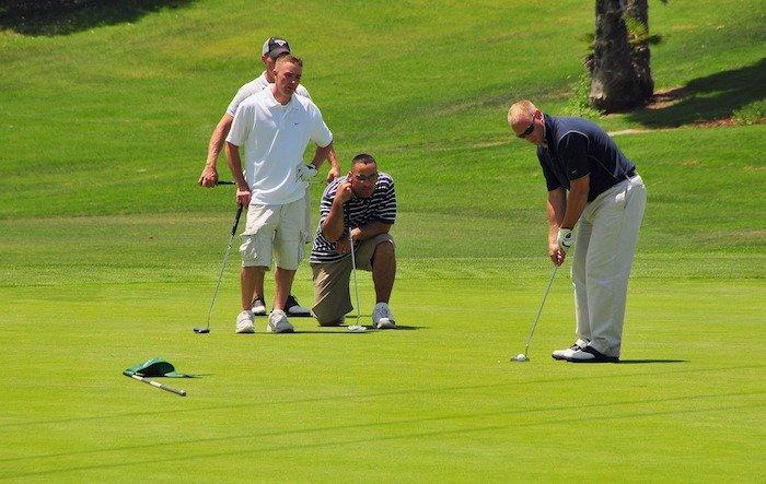 Golfing at Rock Barn and Spa in Hickory, North Carolina