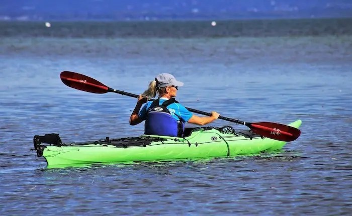 Kayaking at West Point Lake Georgia