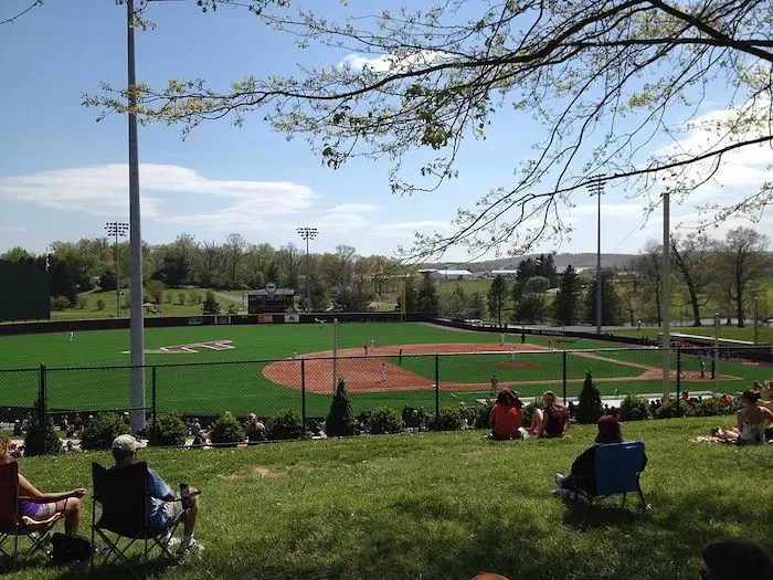 English Field Virginia Tech