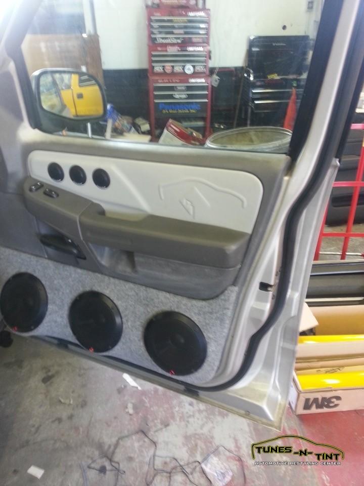 2002 Ford Explorer Custom Door Panels Tunes N Tint