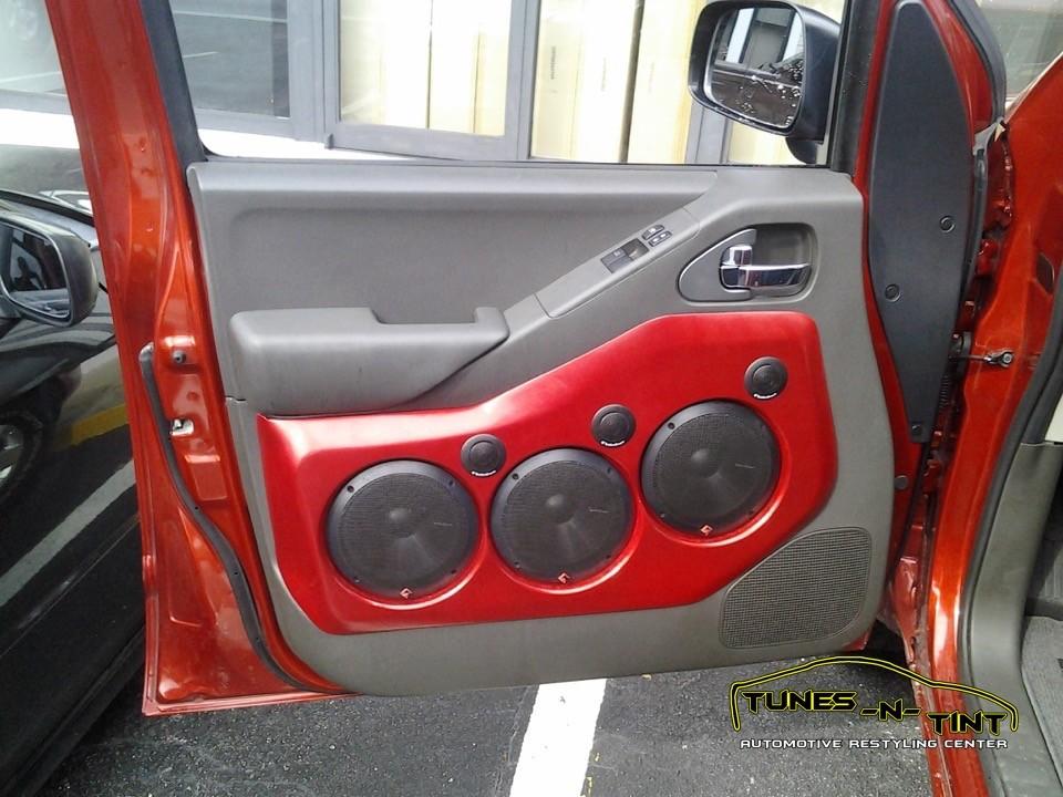 2009 Nissan Frontier Custom Door Panels Tunes N Tint