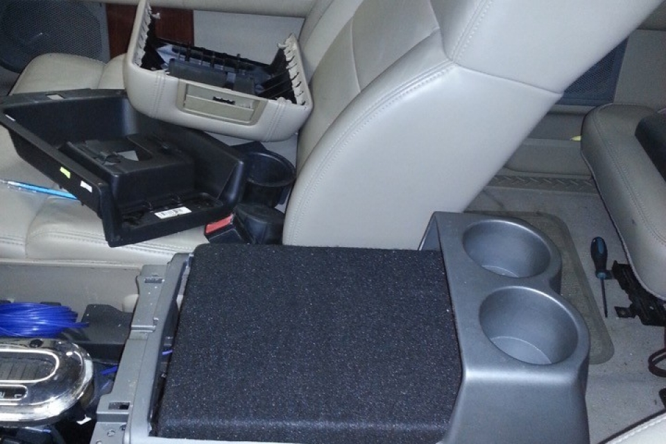 2008 Ford F150 Center Console Sub Enclosure Tunes N Tint