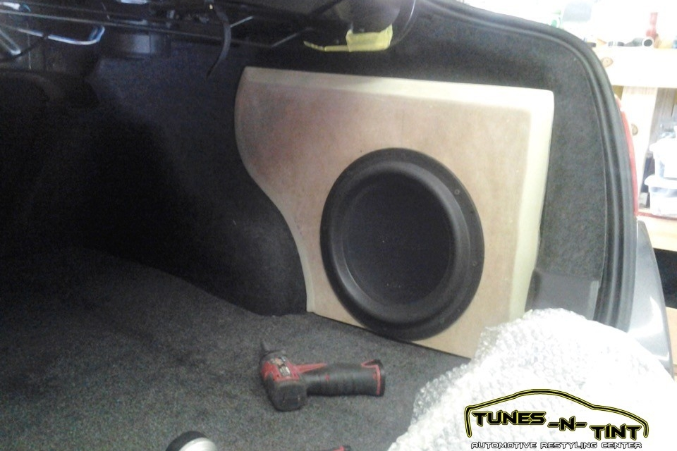 2011 Nissan Altima Custom Sub Enclosure Tunes N Tint