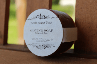Tobacco & Rum Shaving Soap