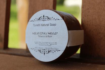 Tobacco & Rum Shaving Soap