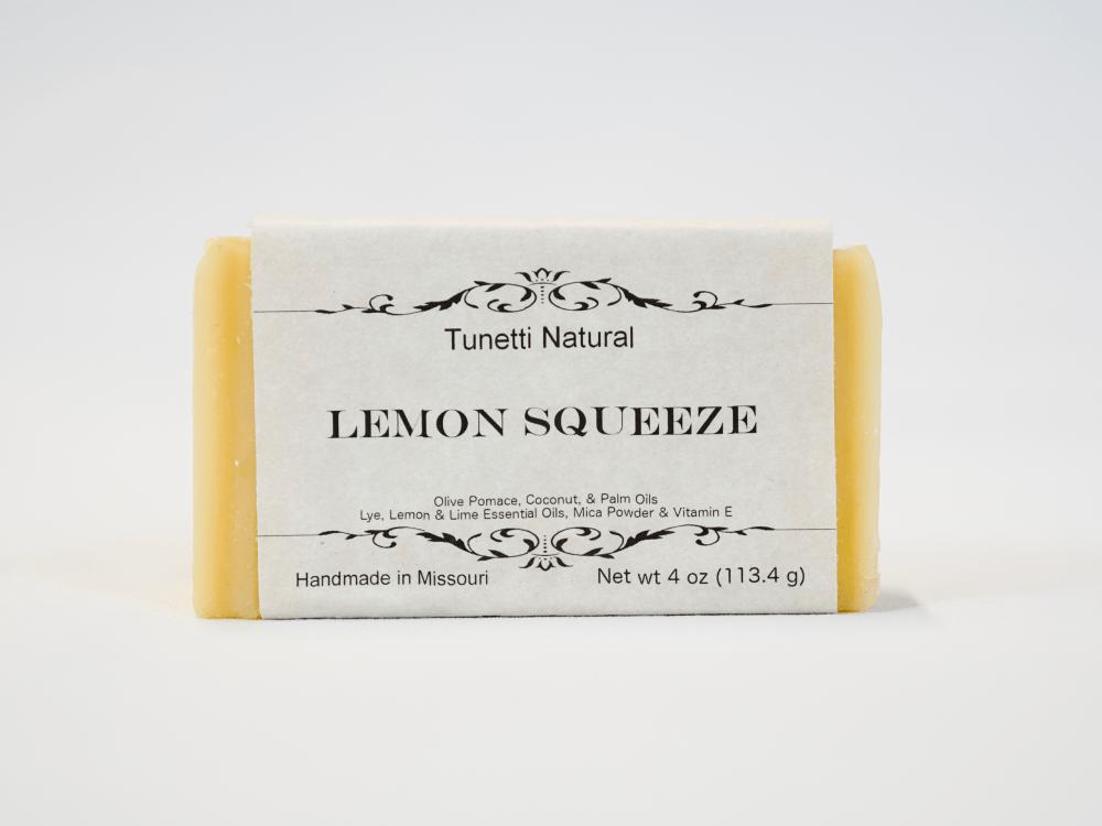 Lemon Squeeze soap