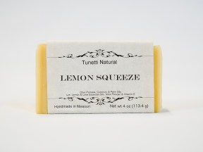 Lemon Squeeze soap