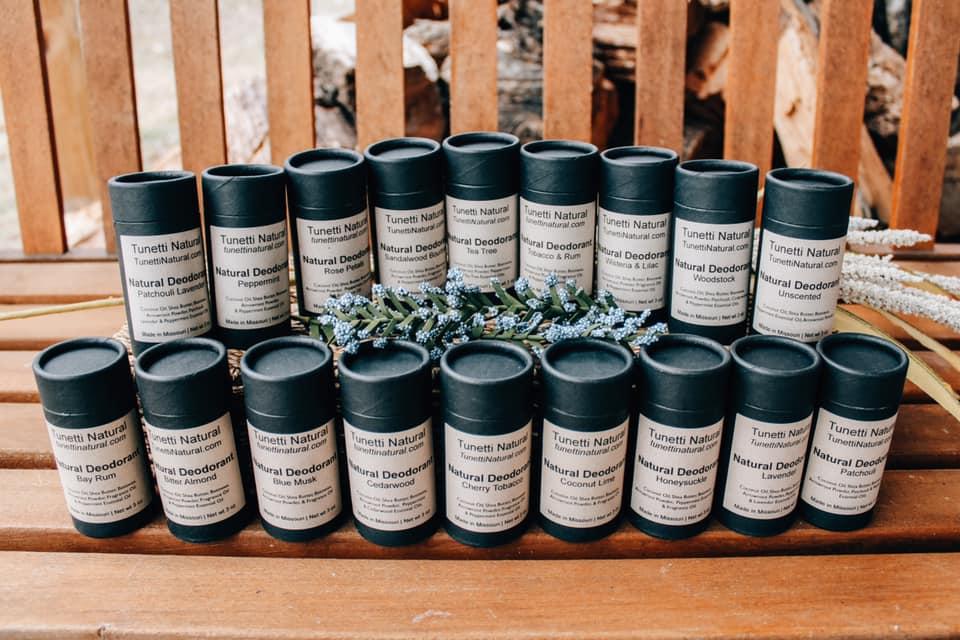 Tunetti Natural deodorant
