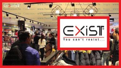 P0187 مغازات EXIST تنتدب موظفين برواتب جيدة