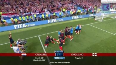 Photo of كرواتيا تقهر إنجلترا وتتأهل لنهائي المونديال