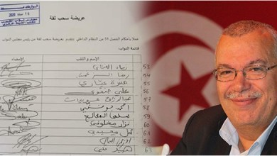 "Photo of نورالدين البحيري: ""لائحة سحب الثقة من الغنوشي لن تحظى ب109 صوتا المطلوبة ولن تمر"""