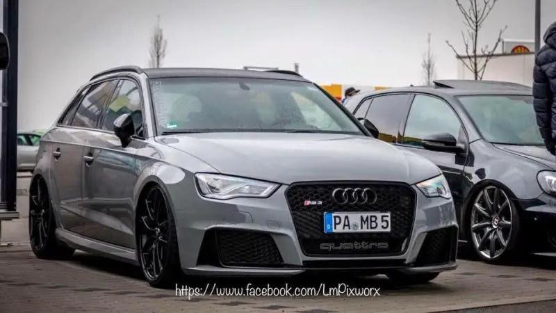 OZ Leggera HLT Gepefeffert Audi RS3 8V Tuning 2