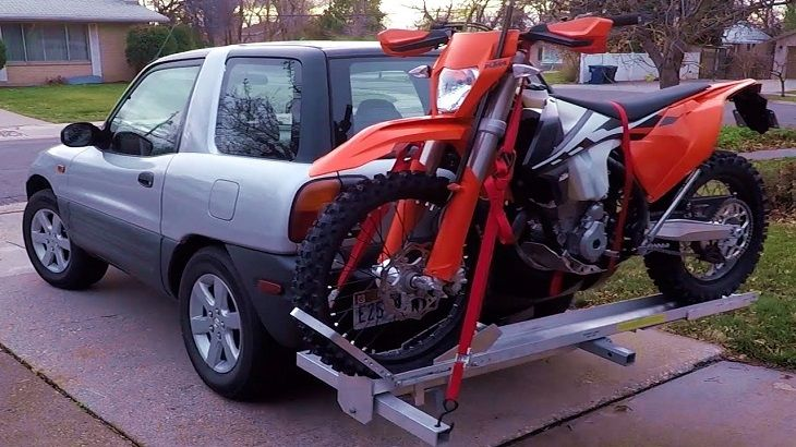 the motorcycle rear carrier