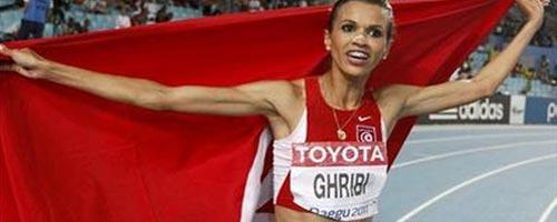 Habiba Ghribi attaquée sur les réseaux sociaux à cause de son maillot de sport
