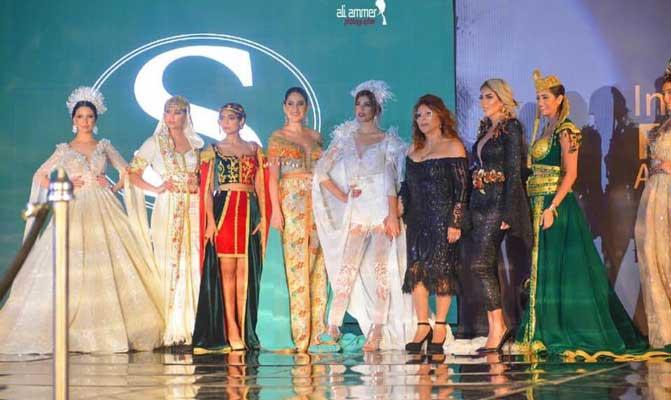 En photos : La styliste tunisienne Sonia Ben Khelil vedette de l'international Fashion Awards au caire.