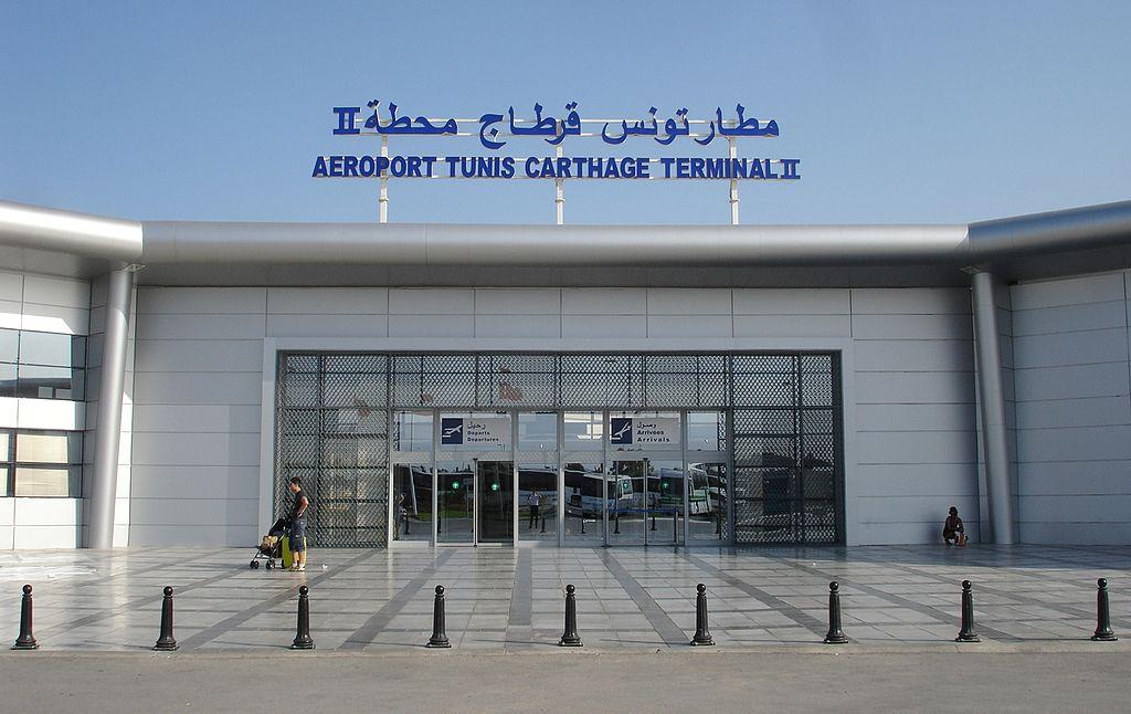 Aeroporto di Tunisi-Cartagine, Arrivi e partenze