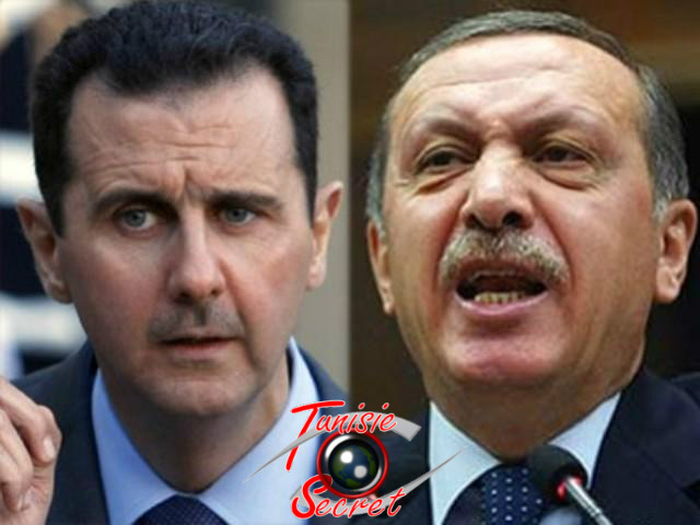 Image result for Erdogan contre assad