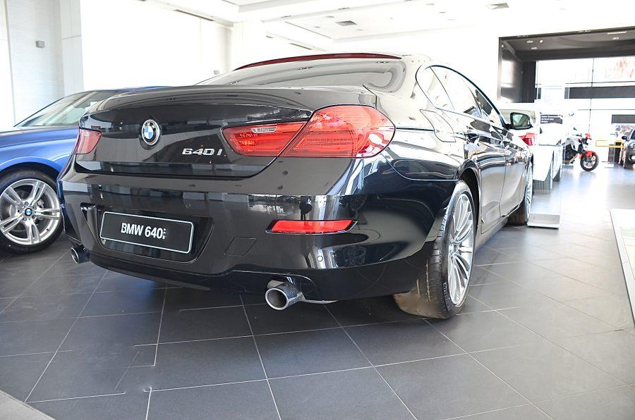 La BMW 640i chez Ben Jemâa Motors