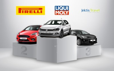 Sondagemeilleur nouveau modèle Segment B pour 2018: Polo, Fiesta et Rio sur le podium!